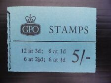 GB Wilding March 1960 - 5/- Booklet H43 Cat £50 SEE BELOW NEW PRICE FP8254