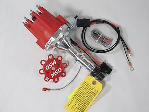 MSD Ignition 8528 Pro-Billet Ready-to-Run Distributor