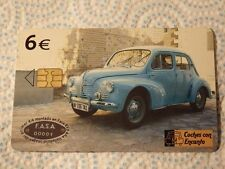 @ PHONECARD - SPAIN - TELEFONICA - RENAULT CAR (F)