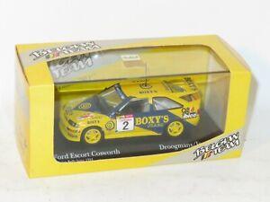 1/43 Ford Escort Cosworth Boxy`s Rally Int.de Wallonie 1993 #2 R.Droogmans