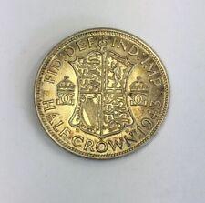 1943 George VI Half Crown Coin Silver