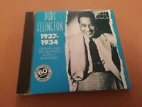 DUKE ELLINGTON * 1927 - 1934 * JAZZ CD ALBUM EXCELLENT 1987