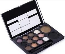 Glitter Shimmer Eyeshadow Palette Neutral Nude Warm Eyeshadow 14 Colors