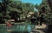 Postcard San Antonio River Texas