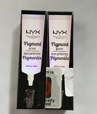 Nyx Professional Makeup Pigment Primer .33 fl oz Lot of 2