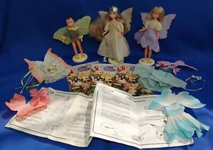 Hornby Flower fairies fairy doll dolls outfits wings booklets and more!