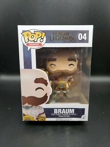 Funko Pop! Games League of Legends Braum #04 Vinyl Figure