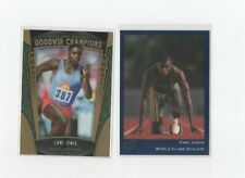 (LOT OF 2) CARL LEWIS CARDS 1992 CLASSIC #28 / 2015 UD GOODWIN CHAMPIONS #89