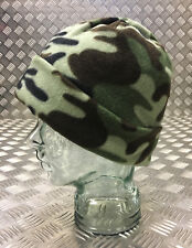 Woodland Camouflage Thinsulate Beanie Hat - Very Warm - One Size - Brand New