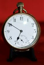 1890s Labrador Louis Brandt (Omega)  USA 20 year Gold Plate Cased Pocket Watch