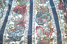 RARE WAVERLY Schumatcher 2 PANELS LINED CURTAIN  FLORAL PINCHED & Valance UNUSED