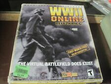 WWII ONLINE BLITZKRIEG VIRTUAL BATTLEFIELD PC CD ROM