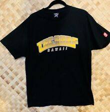 T&C SURF TOWN & COUNTRY SURF SURFER SURFING HAWAII BLACK LOGO TEE T-SHIRT LARGE