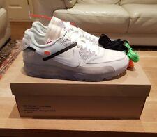 Bianco sporco x Nike Air Max 90 le dieci 12 Nuovo di Zecca UK