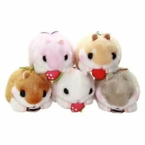 Genuine Japan Amuse Coroham Coron Hamster Eating Ball Chain Plush Cute Kawaii