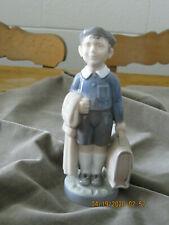 Royal Copenhagen Boy with Briefcase figurine