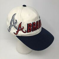 RARE Vintage 80s 90s Atlanta Braves Sports Specialties Snapback Hat MLB One Size