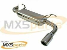 MX5Parts Performance Sports Stainless Exhaust Silencer Mazda MX5 Mk2 2.5 NB NBFL