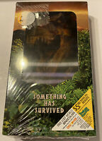 JURASSIC PARK THE LOST WORLD Factory Sealed VHS TAPE 3-D COVER