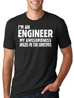 Engineer Awesomeness T-shirt Funny Engineer Tee Shirt Gift for Engineer