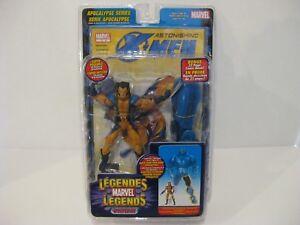 Marvel Legends Apocalypse BAF Series 12 Wolverine unmasked variant left leg Xmen