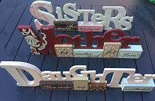 Vintage/Retro Daughter Decorative Plaques & Signs