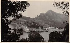 SOLLER MALLORCA SPAIN PANORAMA REAL PHOTO POSTCARD 1910s