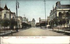 Colonia Juarez Mexico Calle de Londres c1905 Postcard