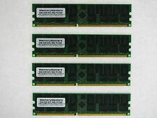 8gb (4x2gb) DDR Memory RAM Pc3200 ECC Reg DIMM 184-pin for Servers Only