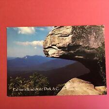 4X6 in. Caesar's Head State Park South Carolina Unposted Postcard