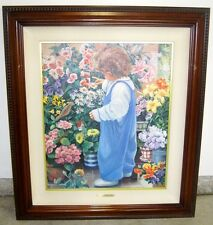 """Genuine Susan Rios """"BUDDY"""" Painting Limited Edition #45 of 500 Lithograph"""