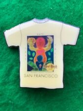 "Hard Rock Cafe San Francisco ""LOVE, HOPE, & TRUST"" T-Shirt Pin!!! Rare!!!"