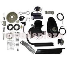 80cc 2-Stroke Cycle Engine Motor Kit for Motorized Bicycle Black Body