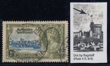 """Northern Rhodesia, SG 18h, used """"Dot by Flagstaff"""" variety"""