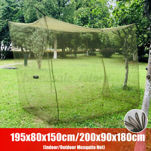 Portable Large Green Camping Mosquito Fly Net Indoor Outdoor Netting Insect Tent