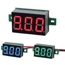 """DC 4.5-30V 0.36"""" LED Display 3 Digits Voltmeter Two Line Auto Shift Voltmeter"""