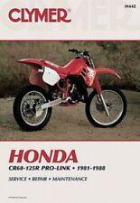 Manuales de motos CR Honda