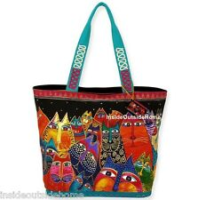 Laurel Burch Fantasticats LARGE Tote Bag NEW