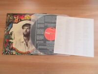 Fish - Internal Exile 1992 Korea Promo LP Insert No Barcode