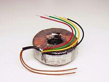 Ringkerntransformator Ringkerntrafo 230V / 2x 22V, 2x 80VA Strobelt
