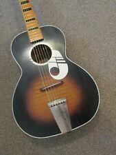 Kay ''Note'' acoustic guitar - USA made - 60s Harmony Silvertone Airline