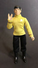 "MEGO Mr. Spock 8"" Action Figure In Yellow Command Uniform"
