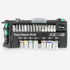 Wera 056491 Tool-Check Plus Bit Ratchet Set with Sockets - Imperial