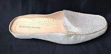 $188.88 Donald J. Pliner Lovage Gold Vintage Metallic Leather Loafer Mule 6.5
