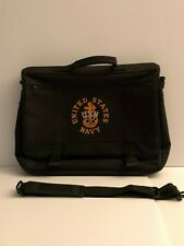 US Navy Embroidered Canvas Briefcase