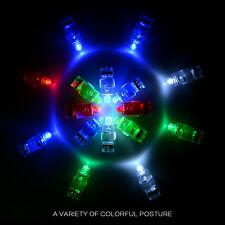 100pcs Light On Finger Led Rave Lights Laser Party Favor Sleepover Glow Beams UK