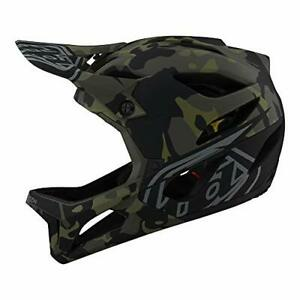 Troy Lee Designs Stage Mountain Bike Full Face Helmet Camo W/MIPS Olive XL/