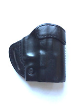 Blackhawk CQC Leather Compact Askins Black LH Fits Glock 20/21, 420503BK-L