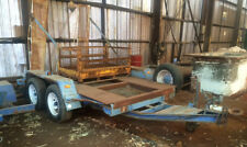 PLANT TRAILER SUITABLE FOR SMALL BOBCAT / EXCAVATOR
