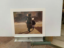 Brian Johnston AMISH WOMEN Signed Numbered print Never framed! 25X19